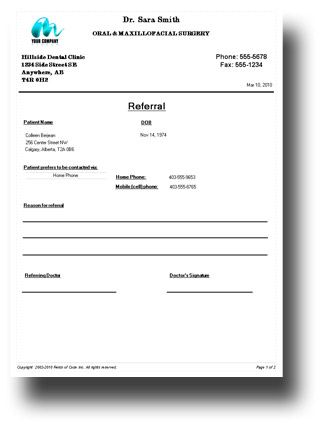 doctors letters templates - how to write a referral letter to doctor professional